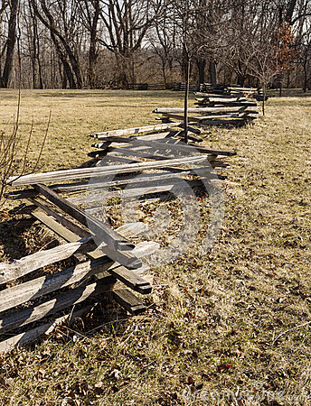 split-rail-fence-zig-zag-crossing-field-towards-trees-39881506