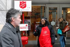 No cash? Salvation Army now accepting mobile donations